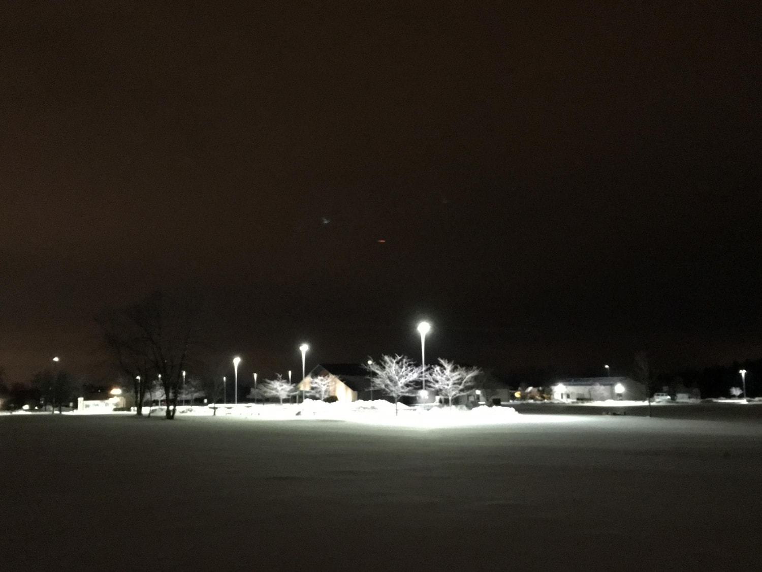 Building and Parking LEDs